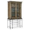 This item: La Grange Blue Bar Cabinet