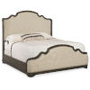 This item: La Grange Antique Varnish King Upholstered Bed
