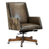 This item: EC Dark Wood 38-Inch Swivel Tilt Chair