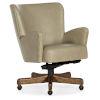 This item: Eva Medium Wood with Beige Executive Swivel Tilt Chair
