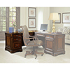 This item: Brookhaven Left Pedestal Desk