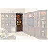 This item: European Renaissance II 32-Inch Door Bookcase