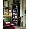This item: Black Hand Painted Bookcase