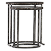 This item: Black Nesting Tables in Wood and Metal