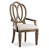 This item: Solana Wood Back Arm Chair