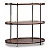 This item: Leesburg Mahogany Chairside Table