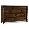 This item: Leesburg Dark Wood Dresser