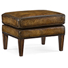 This item: Blakeley Brown Leather Ottoman