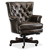 This item: Theodore Brown Leather Home Office Chair