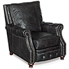 This item: Winslow Black Leather Recliner