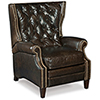This item: Hudson Brown Leather Recliner