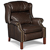This item: Finley Brown Leather Recliner