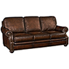 This item: Montgomery Brown Leather Sofa