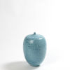 This item: Sea Blue Nine-Inch Decorative Bottle