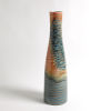 This item: Studio A Home Multicolor Watercolor Ringed Vase