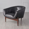 This item: Mimi Black and Walnut 32-Inch Chair