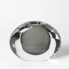 This item: Offset Grey Six-Inch Round Vase