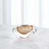This item: Studio A Home Persimmon Small Abstract Bean Vase