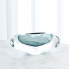 This item: Studio A Home Azure Large Abstract Bean Vase