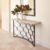 This item: Natural Iron 60-Inch Console