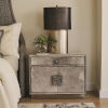 This item: Metro Brushed Nickel 36-Inch Nightstand