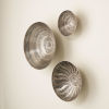 This item: Antique Nickel Wall Bowls
