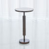 This item: Hammered Antique Brass 12-Inch Martini Table