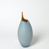 This item: Blue Seven-Inch Small Vase