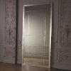 This item: Beaumont Nickel and Brass Floor Mirror