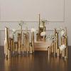 This item: Brass 16-Inch Multi Pipe Vase