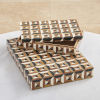 This item: Triangle Horn And Resin 16-Inch Marquetry Box