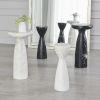 This item: Banswara White Marble 8-Inch Tower Table