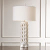 This item: Diamond White One-Light Table Lamp