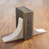 This item: White Three-Inch Bookends