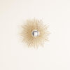 This item: Brass 24-Inch Square Beaded Small Mirror