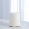 This item: Studio A Home Chalk White Small Encircle Canister with Cork Lid