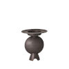 This item: Studio A Home Black Camille Geometric Vase