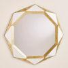 This item: Madeleine Gold Leaf Mirror