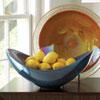 This item: Celestial Blue Swoop Bowl