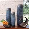 This item: Ink Blue Large Matchstick Vase Only