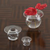 This item: H2O Large Clear Vase