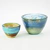 This item: Mesa Blue Gelp Large Bowl
