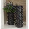 This item: Studio A Molecule Graphite Large Vase