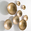This item: Studio A Indira Antique Brass Large Wall Bowl