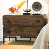 This item: Dark Brushed Mango Two-Drawer Wide Chest