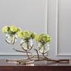 This item: Twig Brass Three Vase Holder