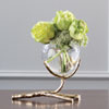 This item: Twig Brass Vase Holder