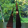This item: Pair of Pyramid Sculptures
