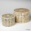 This item: Triangle Stripe Round Large Box