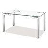 This item: Roca Polished Stainless Steel Dining Table